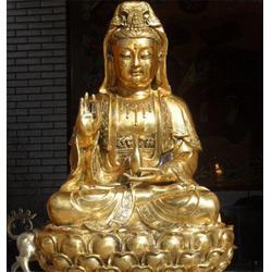 旭升铜佛像-纯铜佛像定做厂家-辽宁纯铜佛像图片