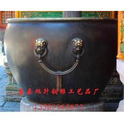 旭升雕塑厂、故宫铜大缸、贵州铜大缸图片