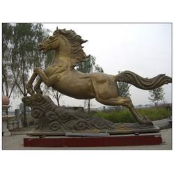 内蒙古大型铜马铸造厂|内蒙大型铜马铸造厂|旭升铜雕图片