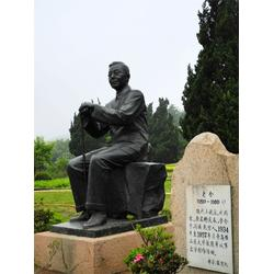 人物像-旭升铜雕人物厂家-半身人物像图片
