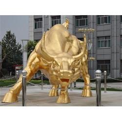 铜牛铸造_旭升铜雕_铜牛铸造厂图片