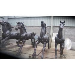 铜马雕塑生产厂家、重庆铜马雕塑、旭升铜雕(查看)图片