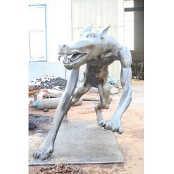 云南铸铜铸铁动物雕塑图片