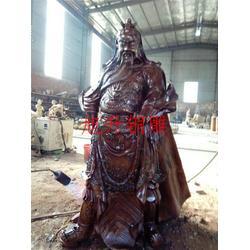 旭升銅雕,廣州鑄銅關公像訂做,廣東鑄銅關公像訂做廠家電話圖片