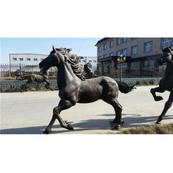东北铸造大型铜马销售厂家|哈尔滨铸造大型铜马|旭升铜雕(图)图片