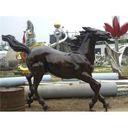 旭升铜雕厂、小区铜马雕塑、安徽铜马图片