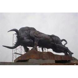 旭升铜雕_重庆大型铜牛铸造_大型铜牛铸造专业厂家图片