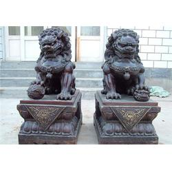 铜狮子|唐县旭升铜雕|镇宅铜狮子图片