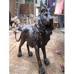 2米汇丰铜狮子、唐县旭升铜雕图片