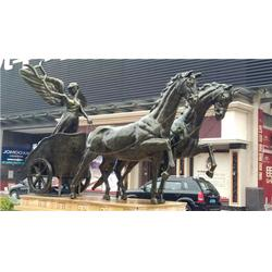 河北大型铜马铸造厂家销售_河北大型铜马铸造_旭升铜雕(查看)图片