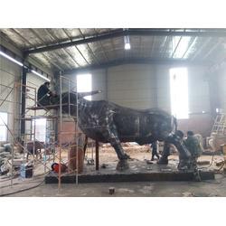 铜牛铸造_旭升铜雕(在线咨询)_6米铜雕铜牛铸造图片