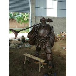 古代人物雕塑|人物雕塑|旭升铜雕工艺品(查看)图片