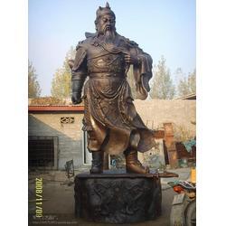 鄂尔多斯铸铜关公雕塑生产厂家,铸铜关公雕塑,旭升铜雕(查看)图片