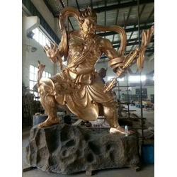 铸铜雕塑、旭升铜雕(在线咨询)、祠庙神像铸铜雕塑图片