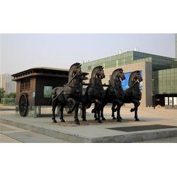 内蒙大型铜马铸造厂|旭升铜雕|内蒙古大型铜马铸造厂报价图片