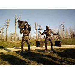 城市广场雕塑铸造出厂|郑州城市广场雕塑铸造|旭升铜雕