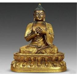 陕西铜佛像图片