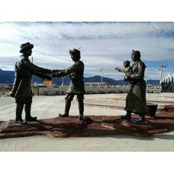 陕西优质城市广场雕塑,旭升铜雕,优质城市广场雕塑厂家图片