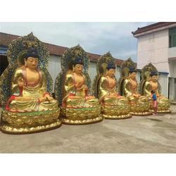 太原大型寺庙铜佛像,旭升铜雕,山西大型寺庙铜佛像厂家直销图片
