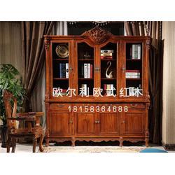 缅甸花梨欧式家具品牌-欧尔利红木雕刻精美图片