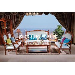 非洲花梨木餐桌椅厂家-欧尔利欧式红木-非洲花梨木餐桌椅图片