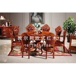 非洲花梨木欧式家具价位 欧尔利红木品质之选图片