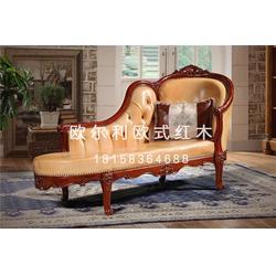 浙江欧式红木家具-欧尔利红木工艺精湛-欧式红木家具厂图片