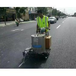 地下车库道路划线_安徽道路划线_合肥昌顺交通设施图片