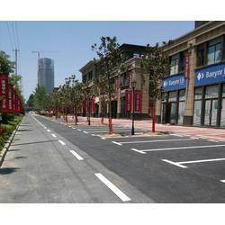 道路标线|合肥道路划线|合肥昌顺交通设施(多图)图片