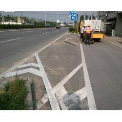 工厂道路划线,安徽道路划线,昌顺交通设施图片