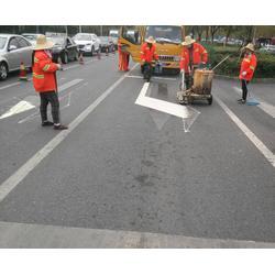安徽路面标线|昌顺交通设施|路面标线工程图片