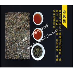 陕西茶叶品牌泾阳茯茶,茯茶礼品订制(在线咨询),茯茶图片