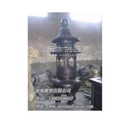 铁香炉定做厂家选渡缘雕塑 家居摆件图片