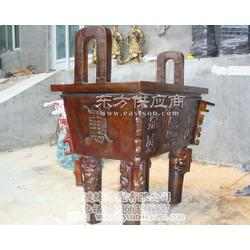 大型铜雕鼎供应厂家选渡缘雕塑 广场雕塑图片