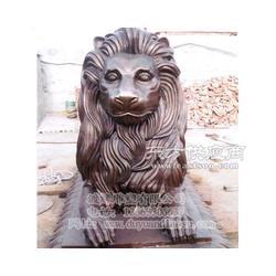 专业定做铜雕狮子优惠选渡缘雕塑图片