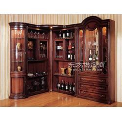 实木酒柜量身定制,世传木高端专属定制品牌图片