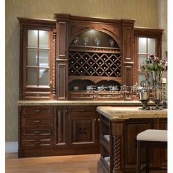 实木酒柜保养与清洁攻略,世传木实木定制品牌图片