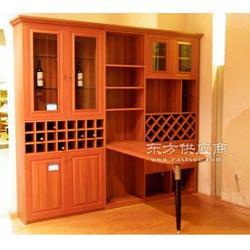 酒柜效果图展示,选择世传木实木酒柜的好处图片