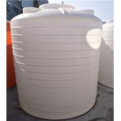 滚塑一体成型pe水箱-6吨5吨熟料塑胶储罐-储罐图片