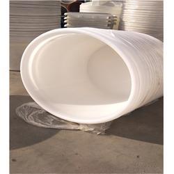 耐酸碱海水孵化塑料桶-牛筋料大口塑料缸定制-塑料桶图片