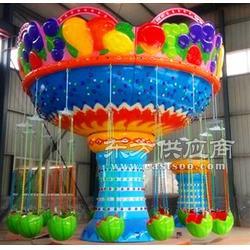 好玩有趣新鲜的水果飞椅图片