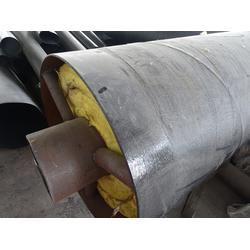 硅酸铝钢套钢保温钢管厂家-诚源管业-钢套钢保温钢管图片