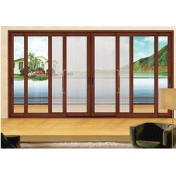 塑钢断桥铝合金窗-银豪门窗(在线咨询)断桥铝合金窗图片