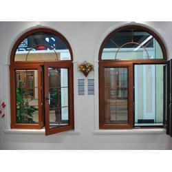 文登实木窗|银豪门窗|实木窗图片