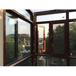 临港区实木门窗-银豪门窗-望美仿古实木门窗图片