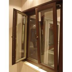 古典实木门窗,威海高区实木门窗,银豪门窗优质厂家(查看)图片