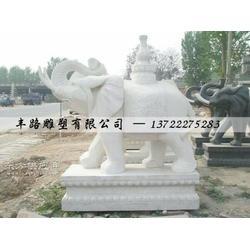汉白玉大象 汉白玉大象 汉白玉大象厂家图片