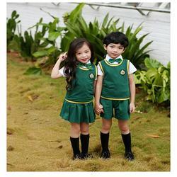 清远校服订做-小学生校服订做工厂-雅曼服饰图片