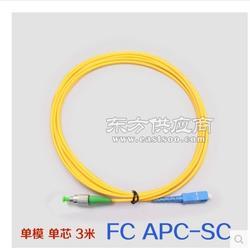光纖跳線FC APC-SC UPC轉接尾纖廣電有線電視專用斜面圖片