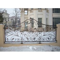 铁艺围栏定做、铁艺围栏、Y.K铁艺厂工艺精致图片
